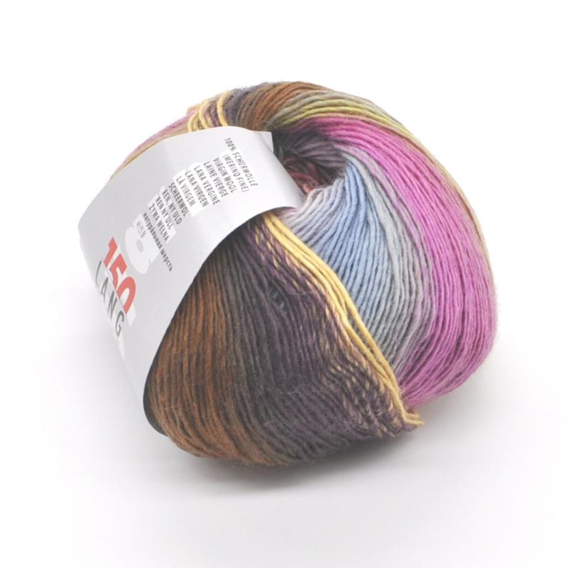 Пряжа Mille Colori Baby Lang Yarns (845)