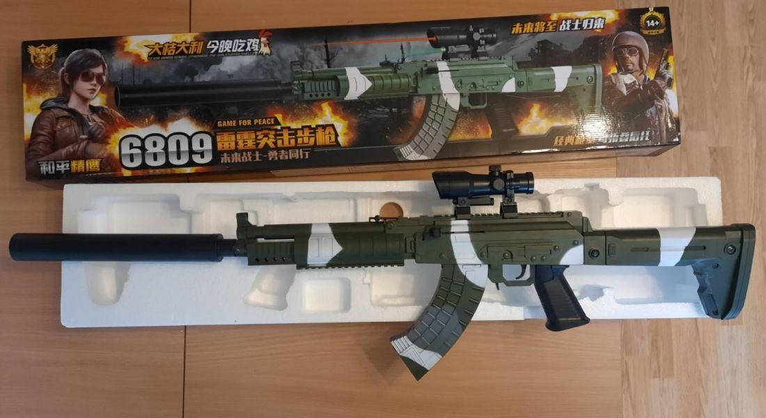 Винтовка снайперская 6809  с лазерным прицелом (игрушка)