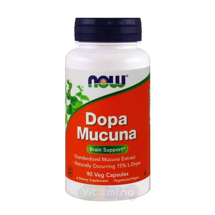 Now Foods Dopa Mucuna Мукуна, 90 капс