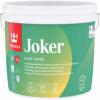 Краска для Стен и Потолков Tikkurila Joker 2.7л Акрилатная, Экологичная, Матовая, Белая / Тиккурила Джокер