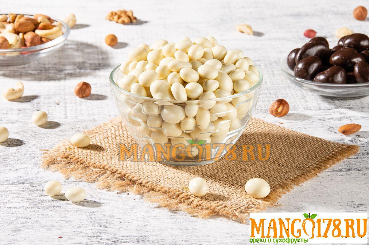 Арахис в белом шоколаде