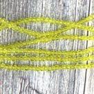 фото Бусины граненые Рондель (стекло) на нити цвет № 36 прозрачный желтый Разные размеры LSR-36