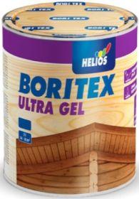 Лазурное Покрытие Boritex Ultra Gel 2.5 л c Воском, Тиксотропная для Внутренних и Наружных Работ / Боритекс Ультра Гель