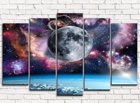 Модульная картина Просторы вселенной