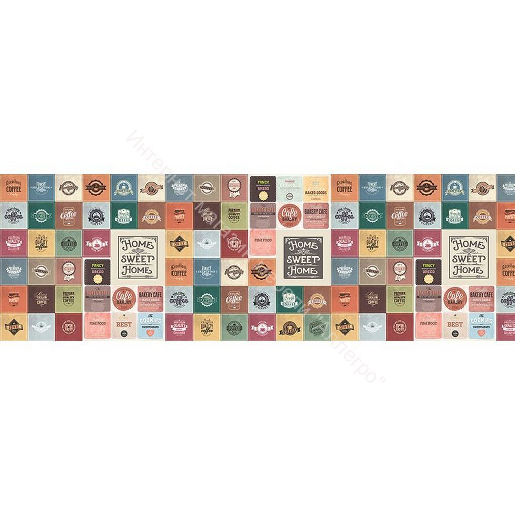 Стеновая панель с фотопечатью  Мозаика 3 2800