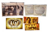 КОМПЛЕКТ 4CD THE BEATLES - 1 & 2 GREATEST HITS + банкнота
