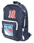 Рюкзак с символикой NHL детский  New York Rangers №10, син. (ТМ ATRIBUTIKA&CLUB)