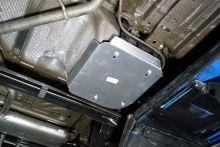 Защита бензобака, алюминий 4мм
