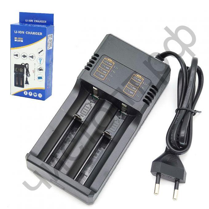 Заряд. уст-во OT-APZ16 2-х аккум.18650 и подоб, контроль заряда