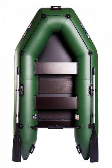 Лодка Aqua-Storm Stm260-40 М ПС РСл Зеленая