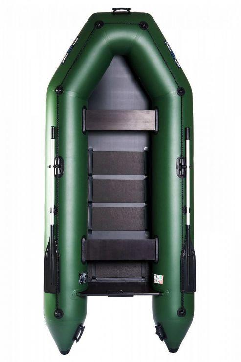 Лодка Aqua-Storm Stm300-40 М ПС РСл Зеленая