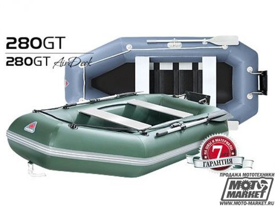 Лодка надувная YUKONA ПВХ 280GT