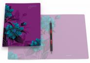Папка-скоросшиватель пластиковая ErichKrause® Night illusion, с пружинным механизмом, A4 (в коробке по 20 шт.)