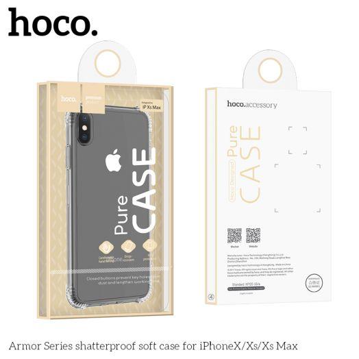 Защитный чехол HOCO Armor Series для iPhoneXS Max, прозрачный