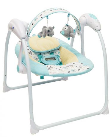 Электронные качели детские AMAROBABY Swinging Baby