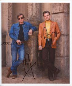 Автографы: Брэд Питт, Леонардо ДиКаприо. Однажды в… Голливуде