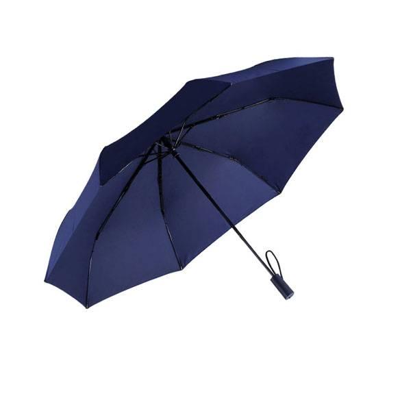 Зонт Xiaomi Tri Folded Two or Three Sunny Umbrella Blue