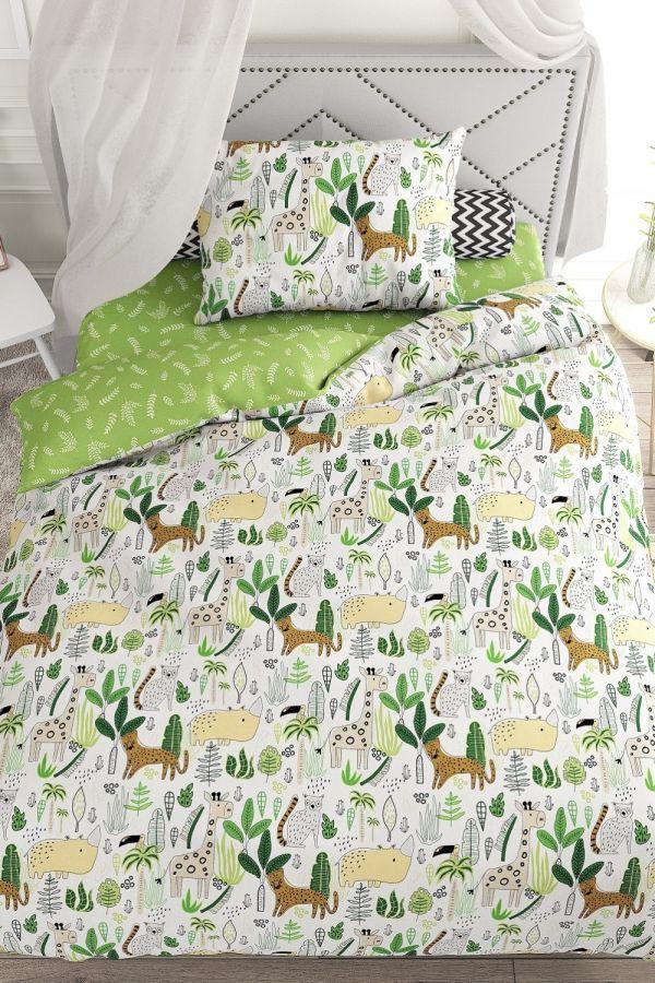 Поплин 1.5 спальный [в ассортименте] АФРИКА/1 постельное белье