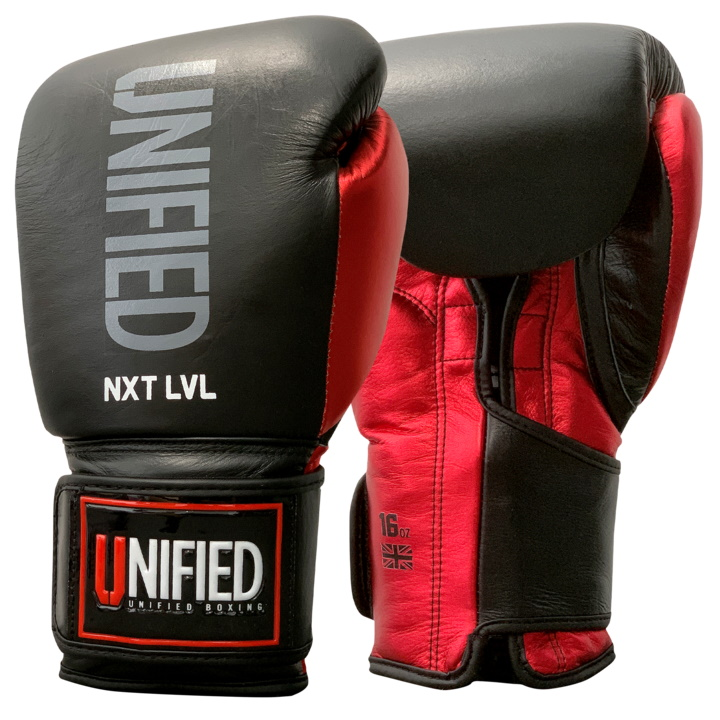 Боксерские перчатки Unified NXT LVL Pro - Black
