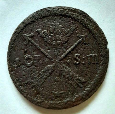 1 оре эре 1685 Швеция Редкий год