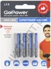 GoPower LR03 AAA BL4 Alkaline 1.5V (48)