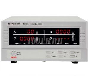 ТЕТРОН-МТ94 Ваттметр цифровой 600 В, 80 А, 48 кВт