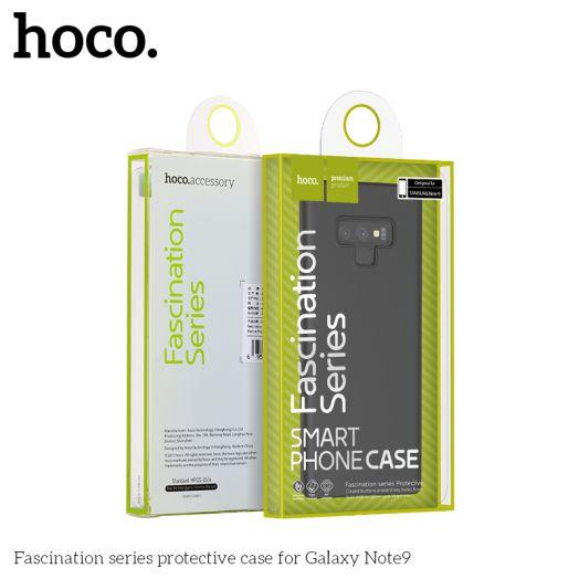 Защитный чехол HOCO Fascination series для Galaxy S9 Plus, черный