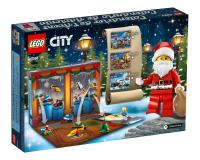 Новогодний календарь 2018 LEGO CITY 60201