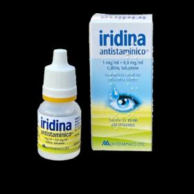 Иридина (IRIDINA гипоаллергик). Капли для глаз MONTEFARMACO (Италия)