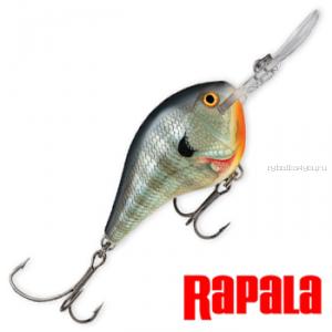 Воблер RapaIa Dives-To 70мм / 22 гр / Заглубление: 0 - 5 м / цвет: DT16-BG