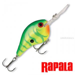 Воблер RapaIa Dives-To 70мм / 22 гр / Заглубление: 0 - 5 м / цвет: DT16-FT
