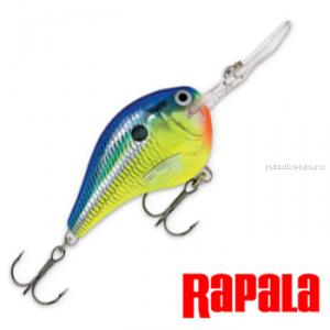 Воблер RapaIa Dives-To 70мм / 22 гр / Заглубление: 0 - 5 м / цвет: DT16-PRT
