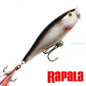 Воблер RapaIa Skitter Pop 70мм / 7 гр / цвет: SP07-S