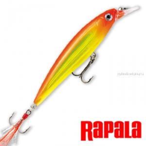 Воблер RapaIa X-Rap 100мм / 13 гр /Заглубление: 1,2 - 1,8 м /  цвет: XR10-HH