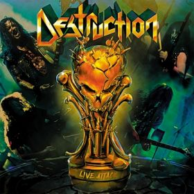 DESTRUCTION - Live Attack [2CD]