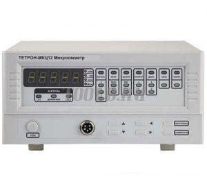 ТЕТРОН-МКЦ12 Микроомметр цифровой от 1 мкОм до 2 МОм