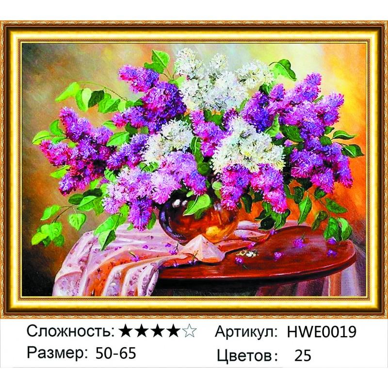 Алмазная мозаика на подрамнике HWE0019