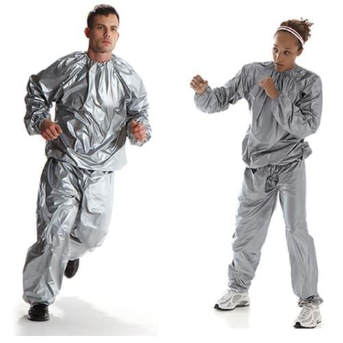 Термический спортивный костюм-сауна Sauna Suit, размер – XXL.