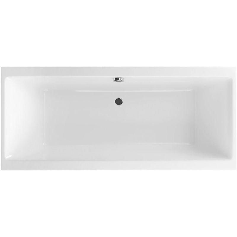 Акриловая ванна Excellent Pryzmat 160 Белая ФОТО