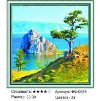 Алмазная мозаика на подрамнике HWH0058