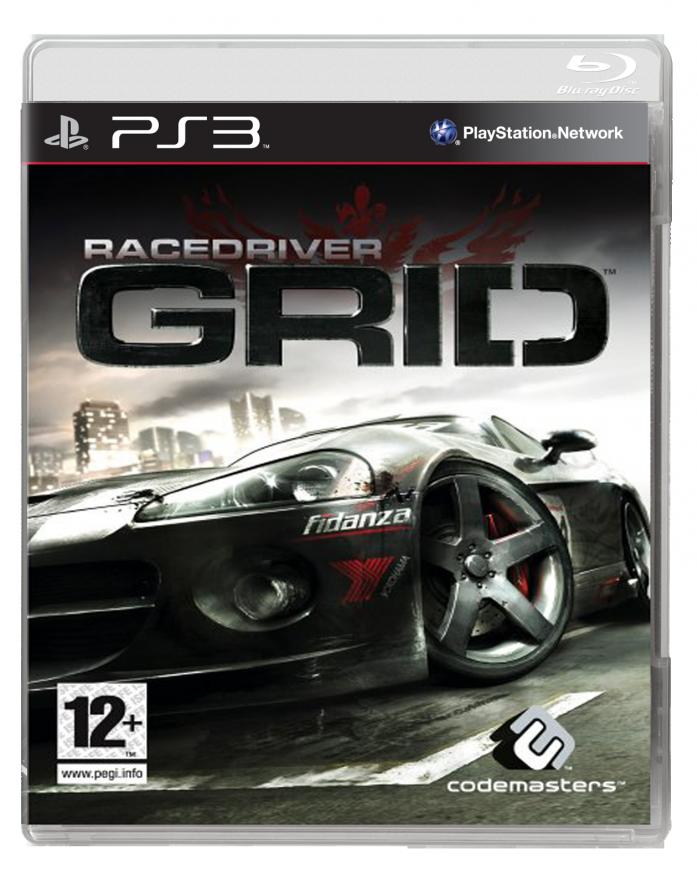Игра Race Driver Grid (PS3)