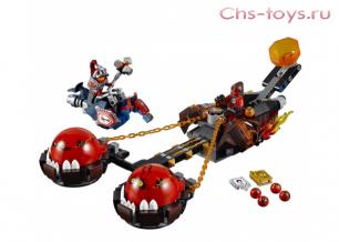 """Конструктор SY Рыцари """"Безумная колесница укротителя"""" SY562 (70314) 334 дет."""