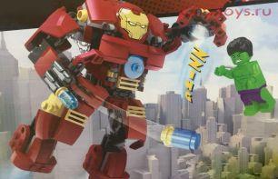 Конструктор JLB Super Heros 3D2-1 194 дет.