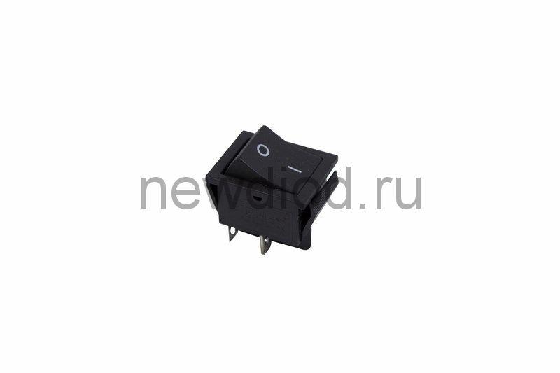 Выключатель клавишный 250V 15А (4с) ON-OFF черный (RWB-501, SC-767)  REXANT