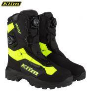 Ботинки Klim Adrenaline Pro Boa, Чёрные-неоново-жёлтые