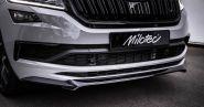 Сплиттер переднего бампера, Milotec, для RS и Sportline