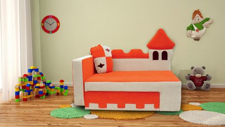Диван для детской комнаты Замок