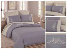 Постельное белье Перкаль с вышивкой 2-спальный Арт.PV-006-2
