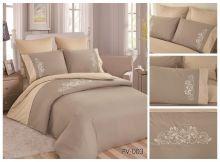 Постельное белье Перкаль с вышивкой семейный Арт.PV-003-4