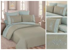 Постельное белье Перкаль с вышивкой семейный Арт.PV-007-4